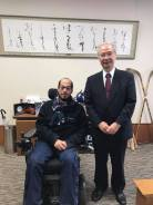 Meeting with Makio Takemura