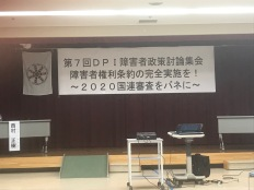 DPI Conference on CRPD